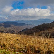 Newfound Mountains from Purchase Knob