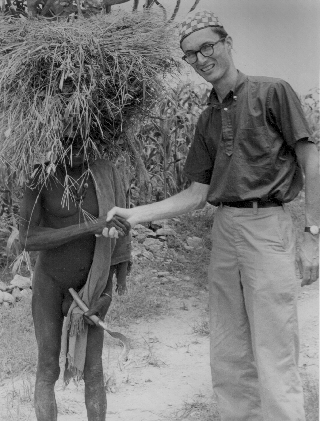 Ron Strickland in Cameroun 1963