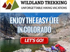 Colorado and Rocky Mountains guided hiking tour types include backpacking trips, inn-based tours, and day hikes. Click for more information.