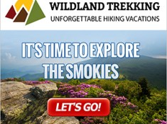 Great Smoky Mountains guided hiking tour types include backpacking trips, inn-based tours, and day hikes. Click for more information.