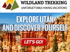 Utah Canyon Country guided hiking tour types include backpacking trips, inn-based tours, and day hikes. Click for more information.