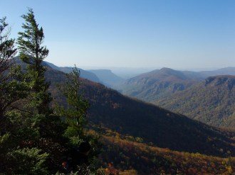 From Sitting Bear Mountain