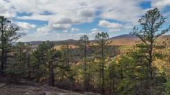 Looking south from Cedar Rock
