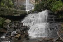 Lower cascade Rainbow Falls