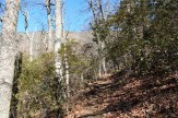 Upward hike