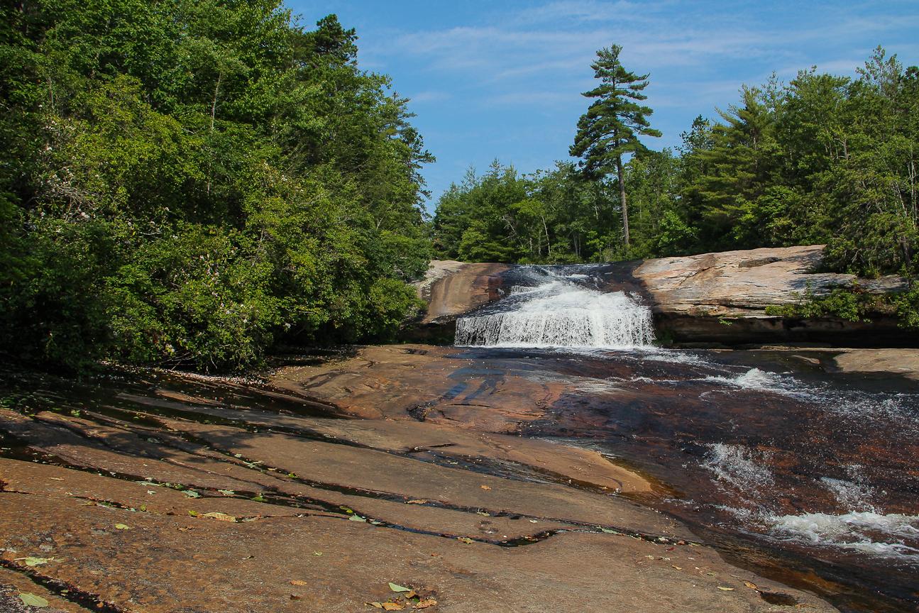 Meanderthals Bridal Veil Falls Grassy Creek Falls Lake