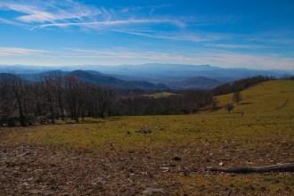 Mt. Pisgah from Bearwallow Mountain