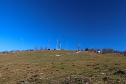 Communications towers on Bearwallow Mtn.