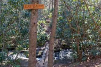 Crossing Cedar Rock Creek