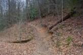 Daniel Ridge Trail heads up