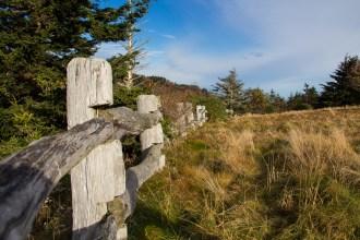 Fence at trailhead