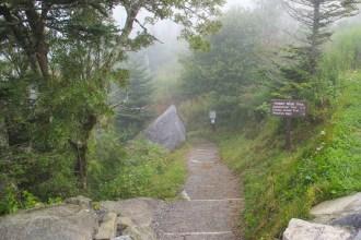 Trailhead at Clingmans Dome