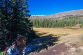 Entering Flat Tops Wilderness