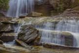 Greenland Creek Falls lower cascade