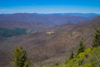 Mt. LeConte and Mt. Sterling