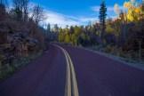 Red Zion roadway