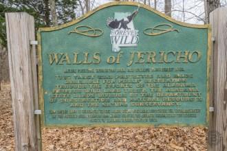 Walls of Jericho trailhead