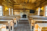 Inside schoolhouse