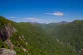 Upper Hickory Nut Gorge from Exclamation Point