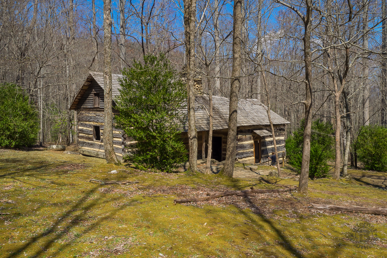 The Whaleys later sold their farm to John Messer, who was married to Pinkney's cousin, Lucy. In the 1930s, the Smoky Mountain Hiking Club constructed this nearby cabin and leased the barn from the NPS. The barn was added to the National Register of Historic Places in 1976, and is the last surviving structure from the pre-park Greenbrier Cove community.
