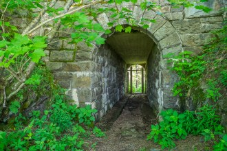 Civilian Conservation Corps tunnel