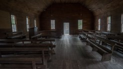 Inside Smokemont church