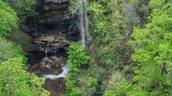 Base of the falls