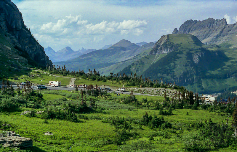 Glacier National Park - Photo by my brother, Dave Clark
