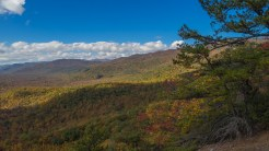 Looking toward Blue Ridge Parkway
