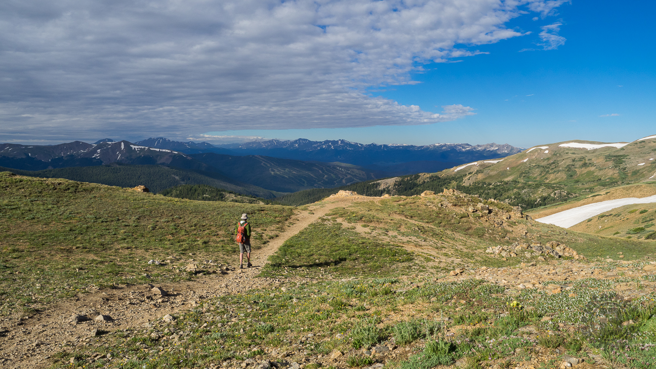 Meanderthals West Ridge Trail From Loveland Pass