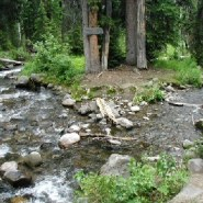 In the Teton Wilderness, where two oceans begin
