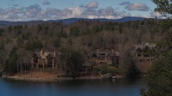 Across Lake Keowee from Raven Rock