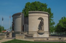 War Veterans Memorial east side