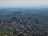 Back of Mt. Rushmore from Black Elk Peak