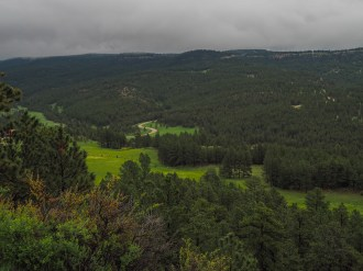 A very cloudy day in the Black Hills