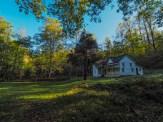 Yard at Woody House