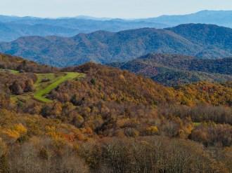 Looking east into North Carolina