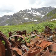 Hiking old mining trails a reminder that one person's trash is another's artifact