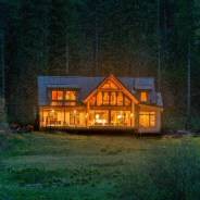 This lodge in the Oregon wilderness is anything but wild