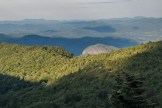 Looking Glass Rock with Brevard