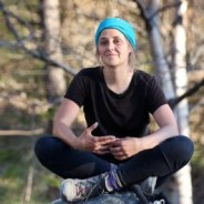 The first woman to walk all 21,500 km of the Trans-Canada Trail