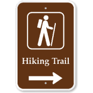 Wayfinding signs are the perfect way to easily communicate with trail users and keep them safe and oriented on the trail