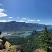 Enjoy late summer light on Hamilton Mountain in the Columbia River Gorge