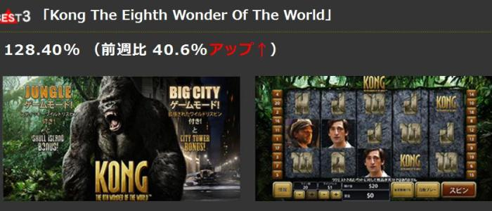 best3「Kong The Eighth Wonder Of The World」