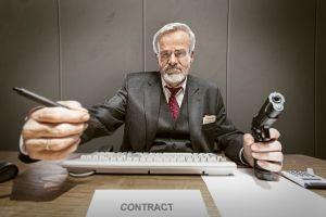 no criticism contracts