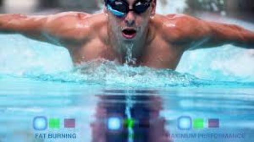 Gafas de natacion conectadas