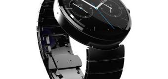 Moto 360 el reloj conectado de Motorola
