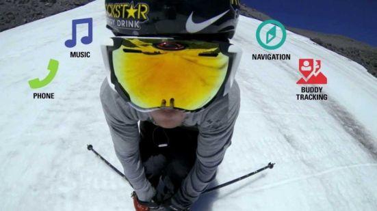 Gafas de ski conectadas