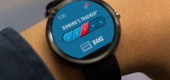Ya puedes pedir tu pizza con tu reloj