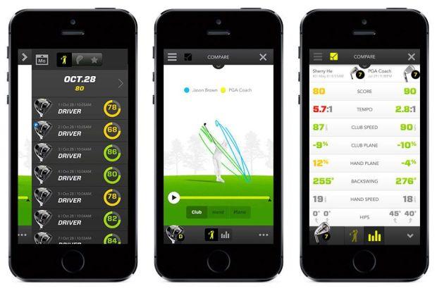 Zepp el sensor de jugadores de golf